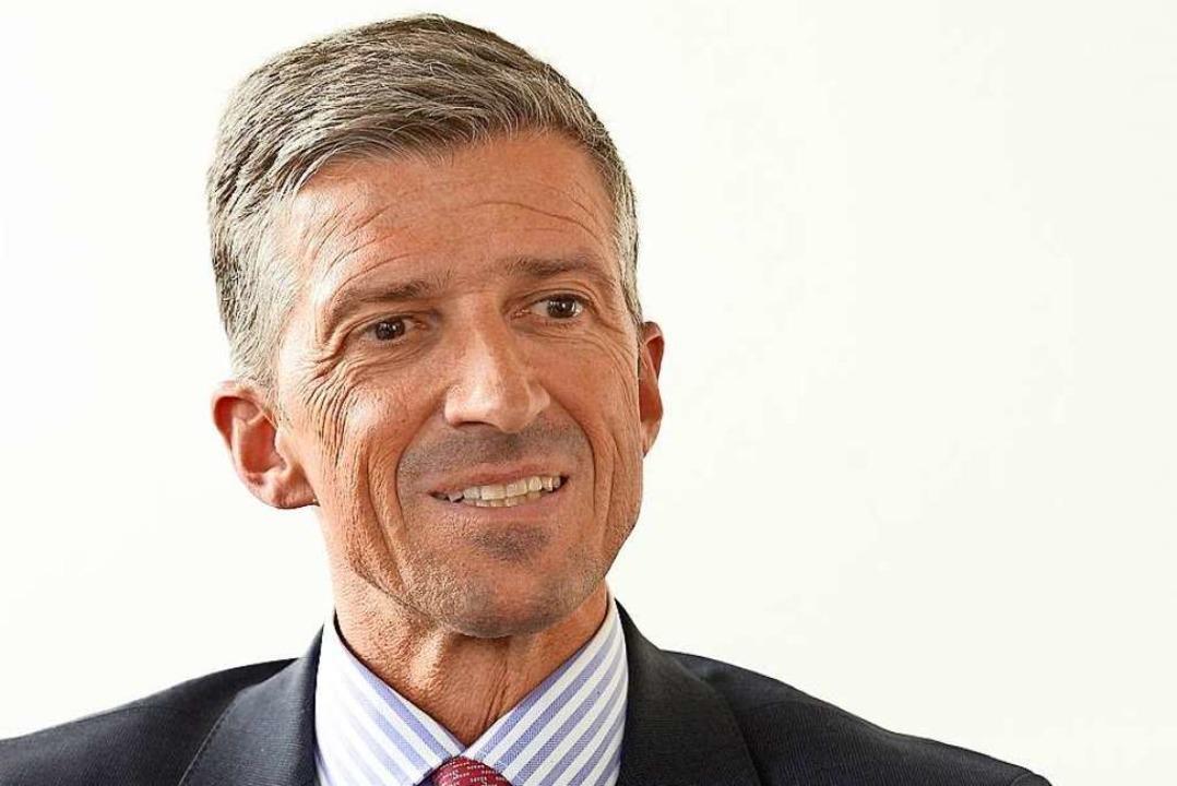 Frederik Wenz, Ärztlicher Direktor der Uniklinik Freiburg  | Foto: Ingo Schneider