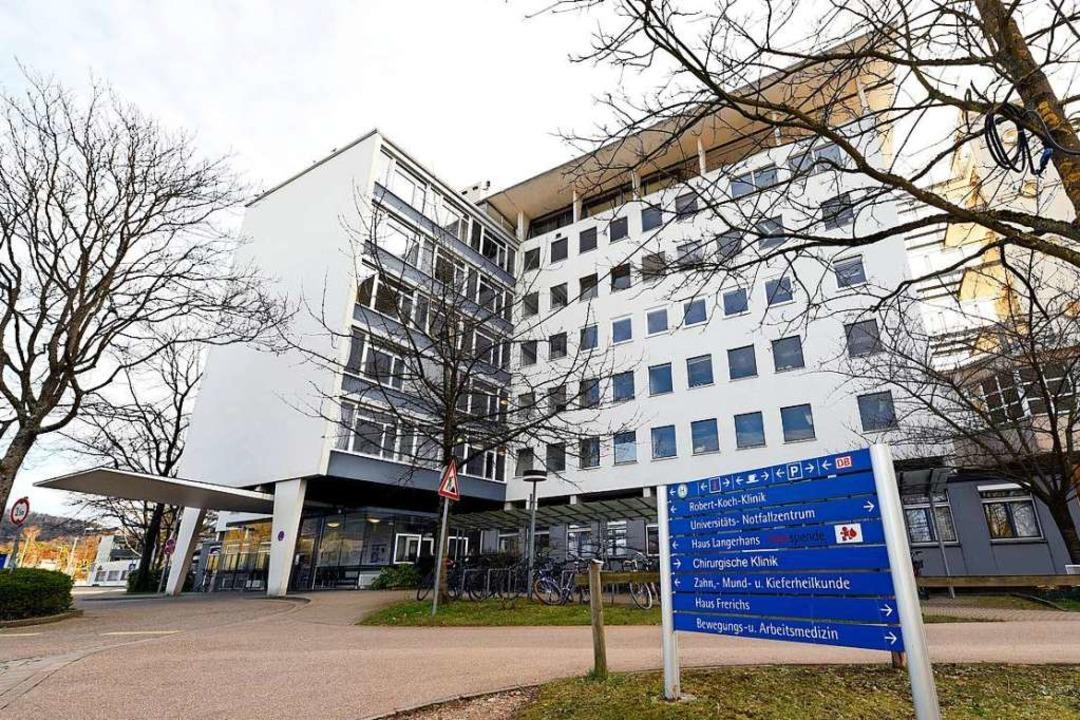 In der Robert-Koch-Klinik der Uniklini...Februar ein Corona-Trakt eingerichtet.  | Foto: Thomas Kunz