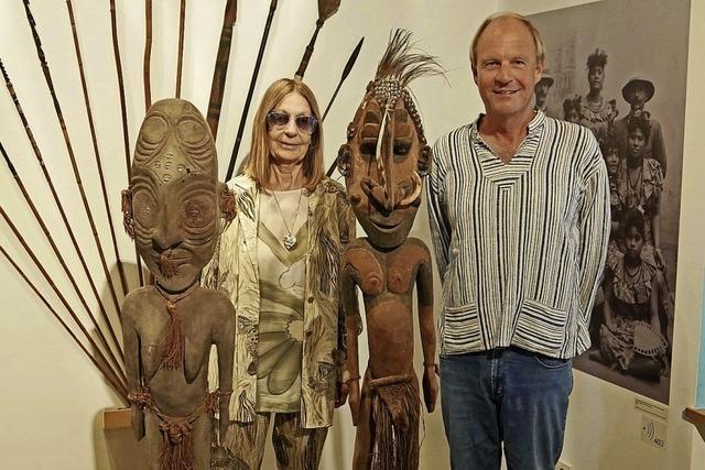 Skulpturen aus Papua-Neuguinea