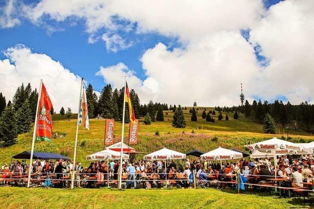 Das Laurentiusfest auf dem Feldberg fällt aus