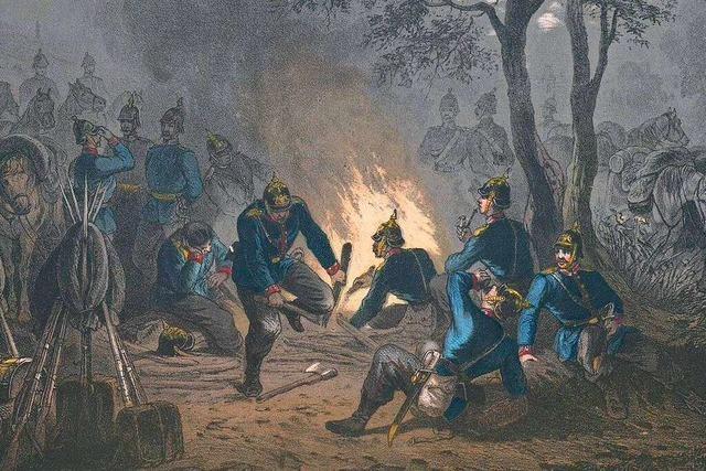 Der Deutsch-Französische Krieg veränderte das Leben am Oberrhein