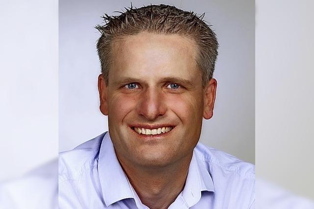 Opfinger Landwirt und Winzer Martin Linser will für die CDU antreten