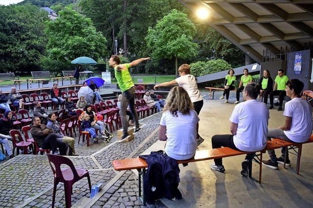 Improtheater im Stadtgarten