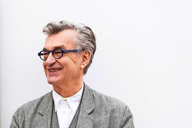 Wim Wenders dreht in der Fondation Beyeler in Riehen