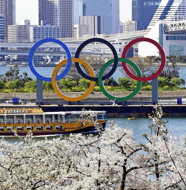 Ob Olympia 2021 in Tokio tatsächlich stattfinden wird, steht noch nicht fest.  | Foto: --- (dpa)