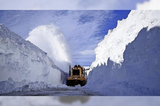 Wintereinbruch in den Anden