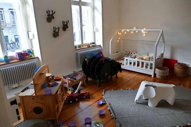 Im Familienzentrum Lörrach läuft der Betrieb fast wie früher