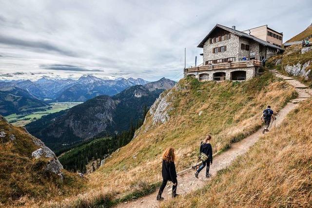 In diesem Jahr ist der Ansturm auf Bayerns Bergwelt noch größer