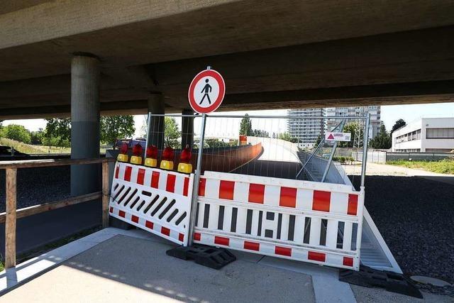 Fehler entdeckt: Die Arbeiten an der Ortenaubrücke dauern vier Wochen länger
