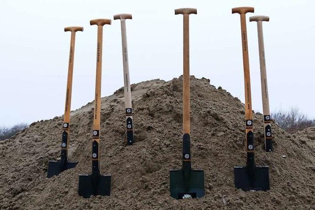 Die Bauarbeiten für das Stadion des FSV Rheinfelden beginnen