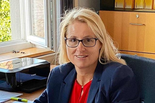 Sibylle Maas ist neue Hauptamtsleiterin in Heitersheim