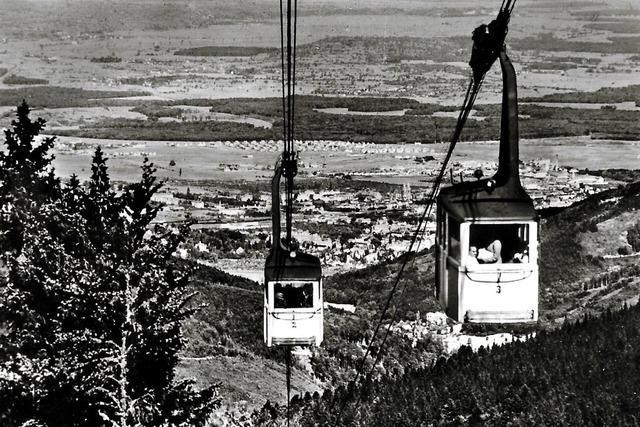 Die Schauinslandbahn wird 90 Jahre alt
