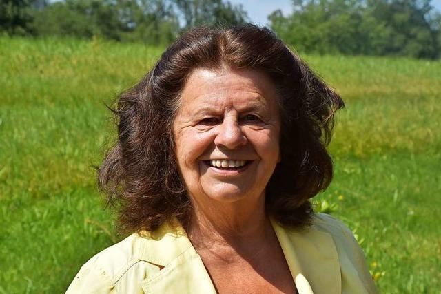 Theresia Respondek gehört seit 40 Jahren dem Gemeinderat St. Peter an