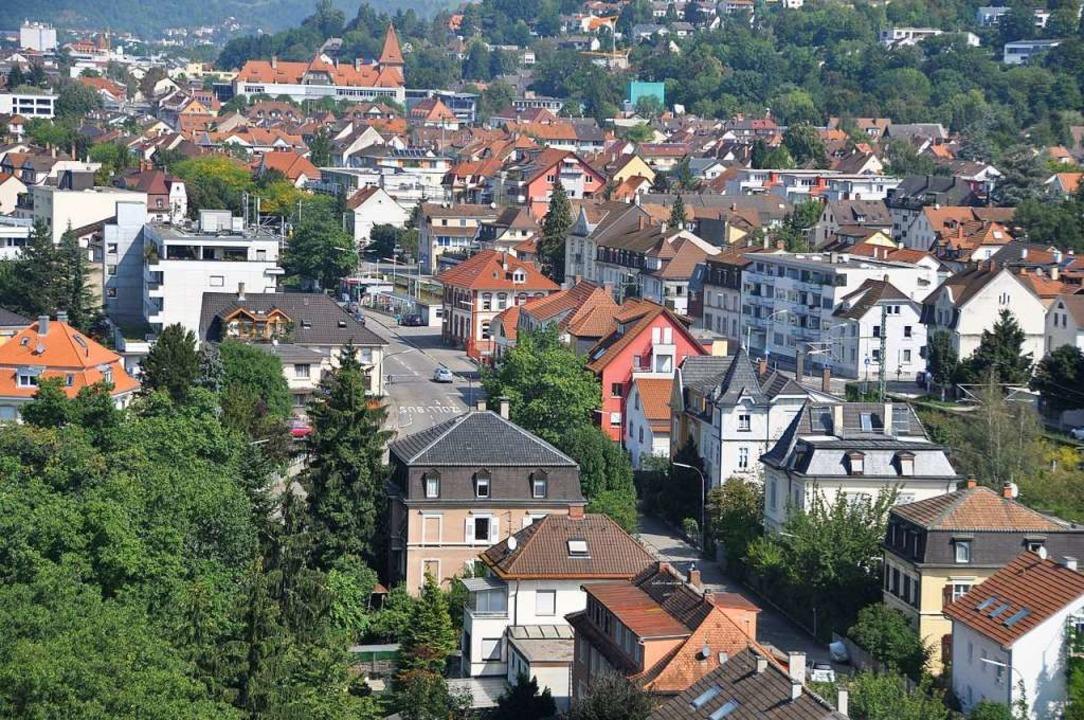 Entlang der Basler Straße, hier der Bl...nhof, soll Stetten umgestaltet werden.  | Foto: Daniel Gramespacher