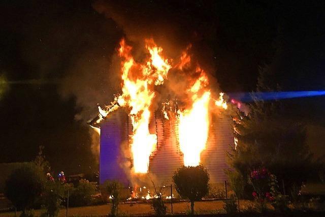 Brand fordert Todesopfer