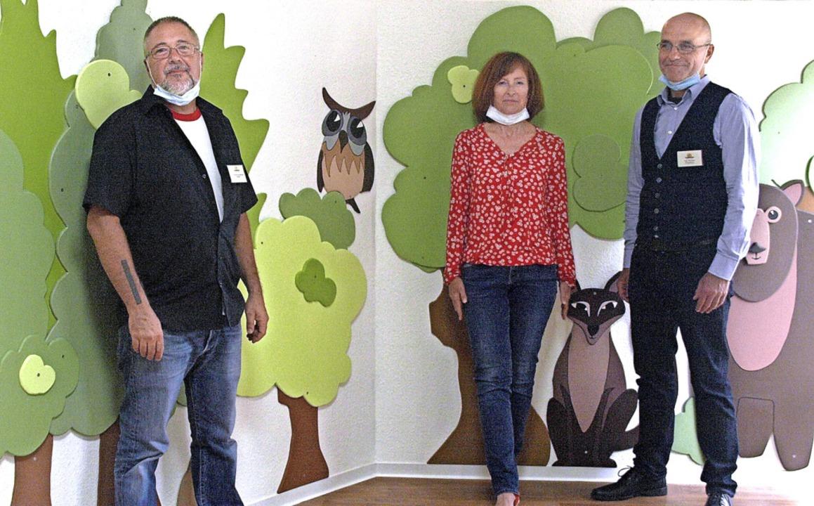 Ein neues Erscheinungsbild haben die K...ter-Kind-Klinik Hotzenplotz  verpasst.    Foto: Karin Stöckl-Steinebrunner