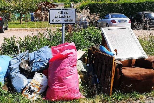 Auch in Breisach gibt es verwahrloste und vermüllte Flecken