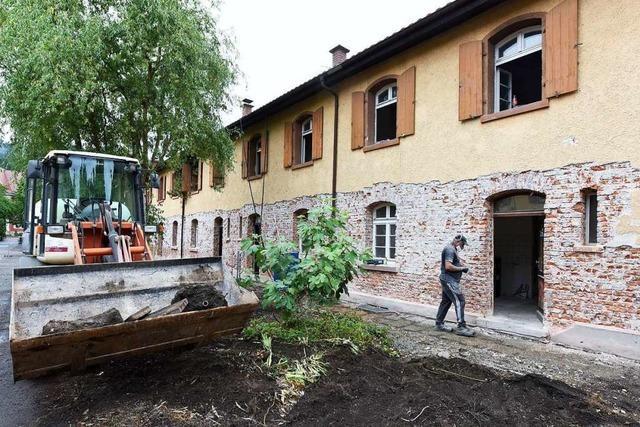 Die Sanierung der Knopfhäusle-Siedlung startet