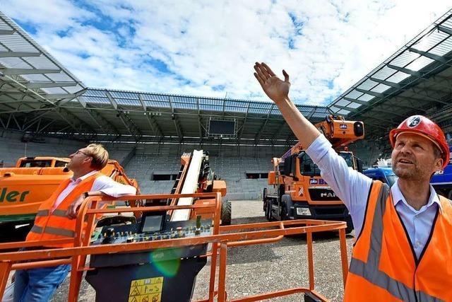 Der SC Freiburg startet die kommende Saison im alten Stadion