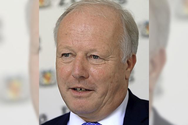 Peter Weiß gibt sein Mandat im Herbst 2021 ab