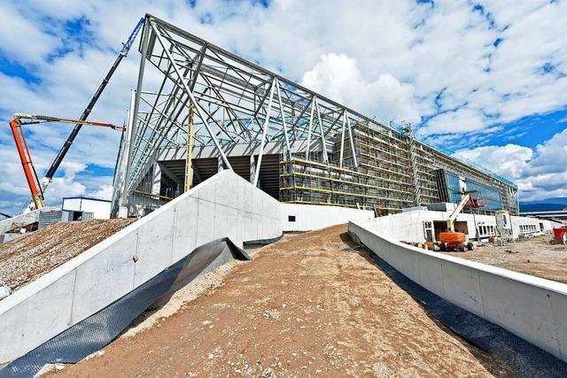 Das neue SC-Stadion wird wohl erst im Dezember fertiggestellt
