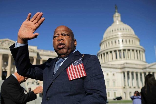 US-Bürgerrechtler John Lewis gestorben