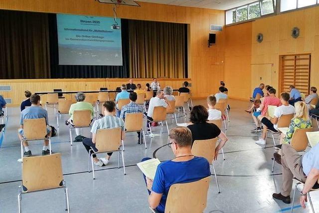 Binzen hat eine Online-Umfrage zur Gemeindeentwicklung gestartet