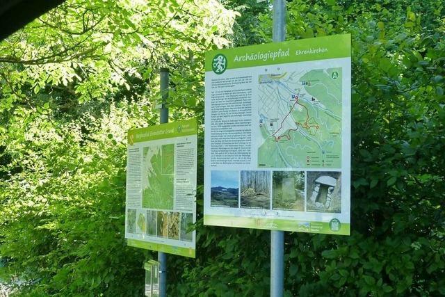 Ein Wanderpfad gibt Einblicke in die Welt der Kelten und Alemannen
