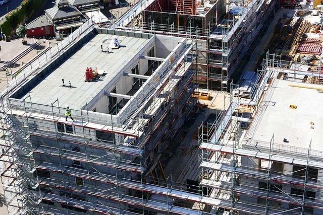 Wann das Wohn- und Geschäftshaus Lö eröffnen kann, ist ungewiss
