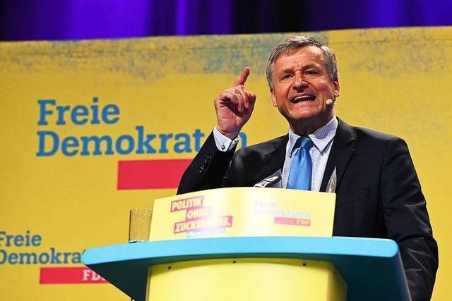 Südwest-FDP wählt Fraktionschef Rülke zum Spitzenkandidaten