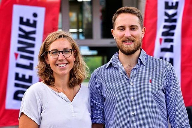 Linke zieht mit Imke Pirch und Pascal Blank in den Wahlkampf