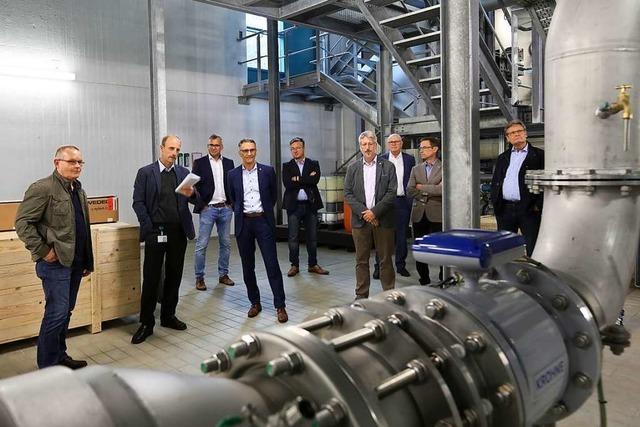 Wasserwerk Galgenberg versorgt 47100 Lahrer sicher mit Trinkwasser