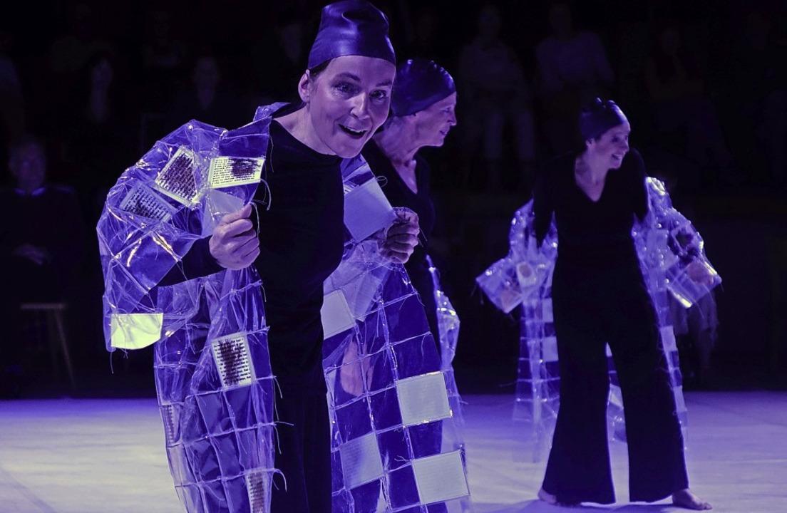 """Das Ensemble Vis à Vie trat mit dem St...2;Mein Haus"""" beim Festival auf.     Foto: Roswitha Frey"""