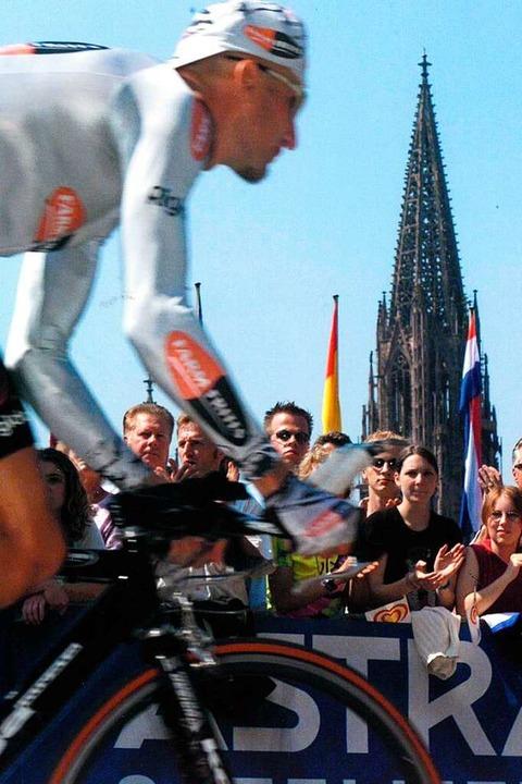 Bis heute bleibt die Tour-Schleife dur...slang größte Sportereignis der Region.    Foto: FWTM