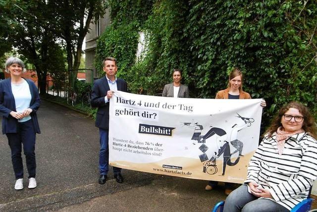 Initiative aus dem Raum Freiburg kämpft gegen Vorurteile bei Hartz IV