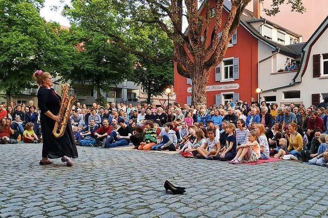 Straßentheaterfestival in Freiburg: