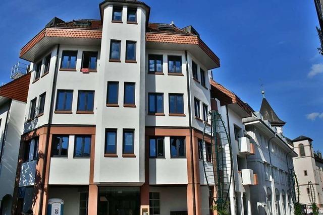Im Martinshaus in Lörrach bekommen die Mieter vielseitige Betreuung