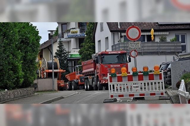 Anwohner: Zu spät über Bauarbeiten informiert