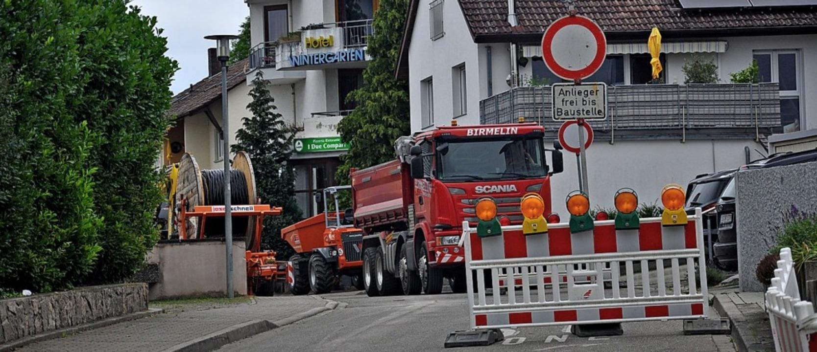 Insgesamt rund sechs Wochen werden die...m Mittag und samstags verbunden sein.   | Foto: Jutta Schütz