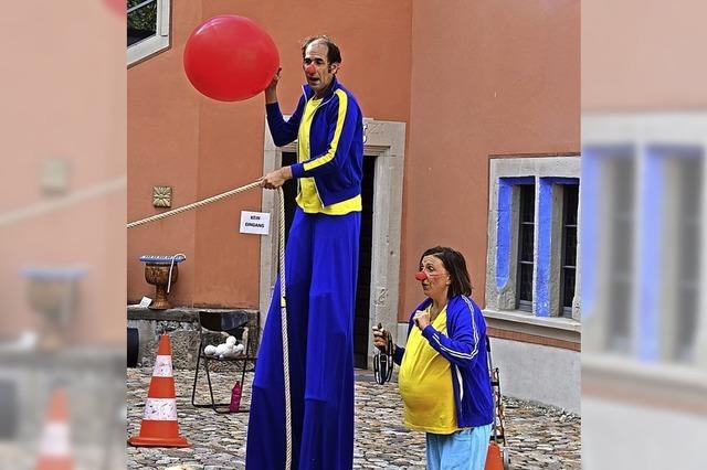 Kinder erleben in Kirchzarten die Faszination Theater