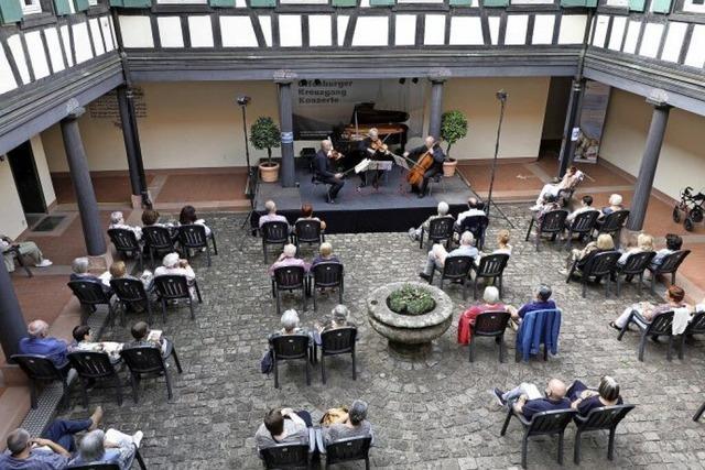 Erfolg mit coronakonformen Konzerten