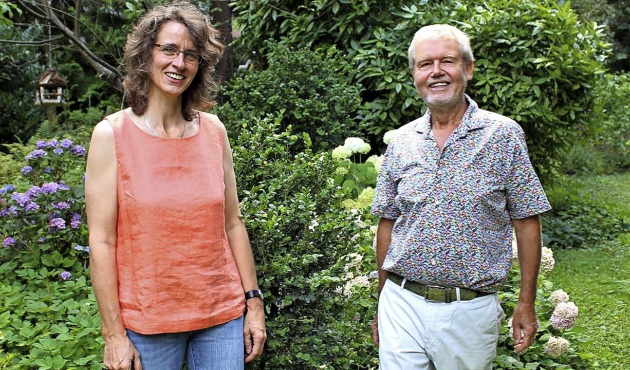 Neues Führungsduo der Wählervereinigun... Hilke Schröder und Michael Wirsching   | Foto: Freiburg Lebenswert