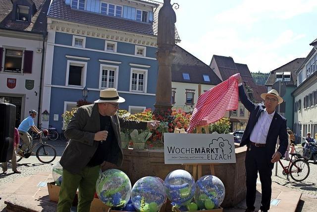 Frischer Wind für den Elzacher Wochenmarkt