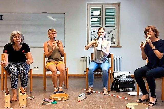 Die Kleinsten bilden die größte Gruppe der Sing- und Musikschule in Weil am Rhein