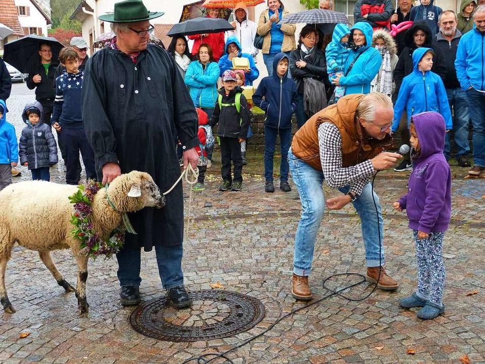 Der Hammellauf ist traditioneller Best...bacher Kilwi (Foto aus dem Jahr 2017).  | Foto: Aribert Rüssel