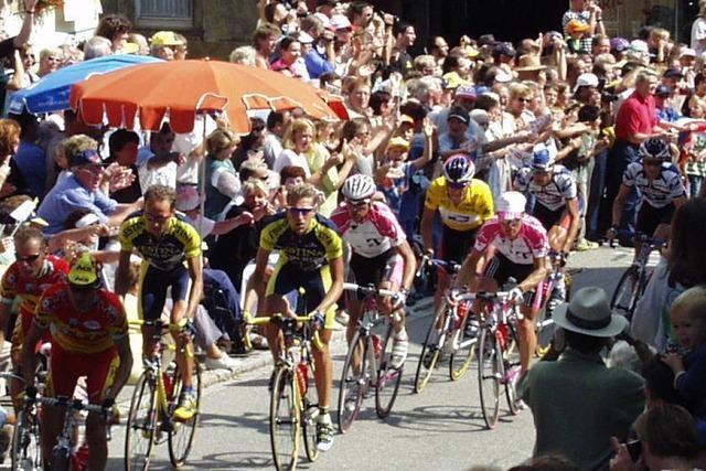 Vor 20 Jahren kam die Tour de France nach Kandern