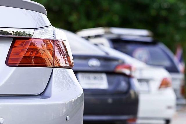 Parkplatzrempler werden in der Schweiz nicht bestraft