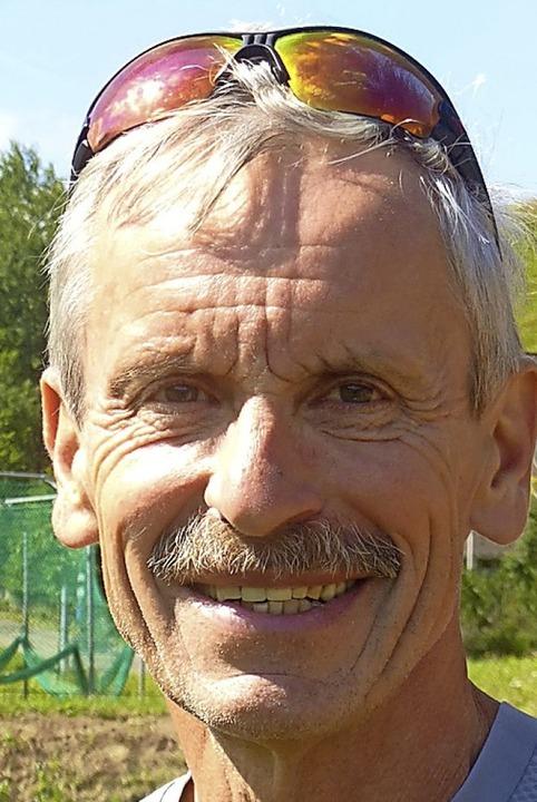Langlauf-Landestrainer Dieter Notz fre...n Bestleistungen seiner Schützlinge.      Foto: Annemarie Zwick