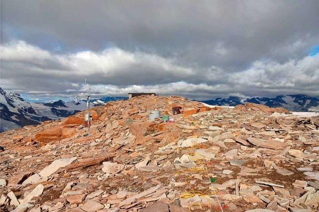 Der Permafrost in den Schweizer Alpen wird wärmer