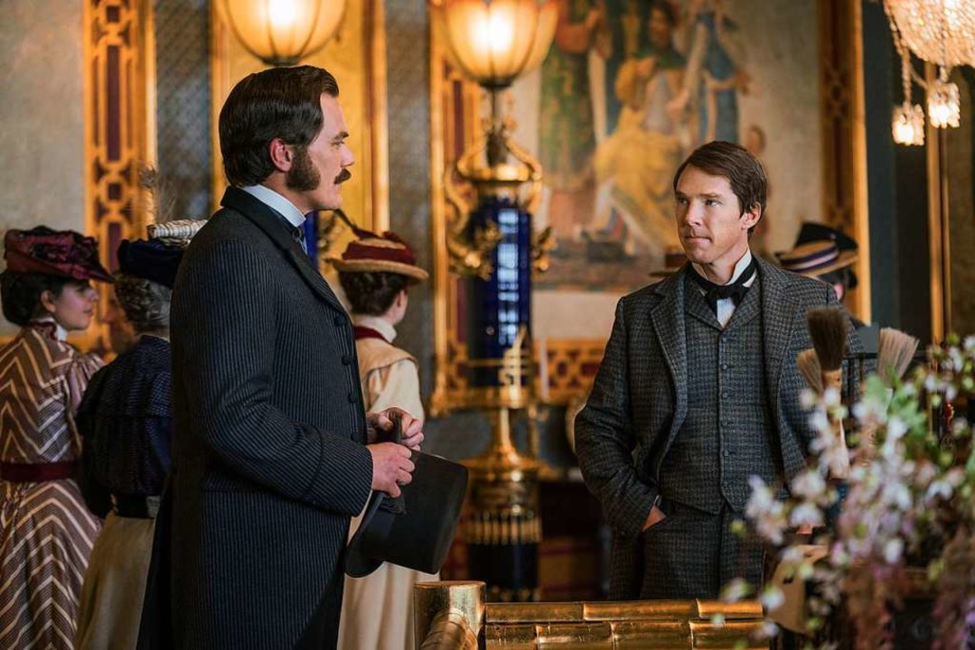 Zwei erbitterte Konkurrenten im Kampf ...r Thomas Edison (Benedikt Cumberbatch)  | Foto: - (dpa)